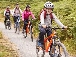 Sommercamp Kinder Fahrrad