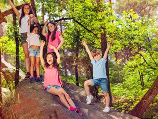 Sommercamp Kinder Natur