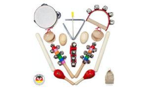 musikinstrumente-set-holz