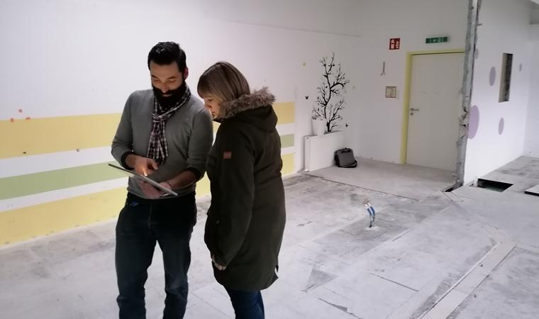 """Impressionen von der Baustelle """"Kindergarten und -krippe EVI"""""""